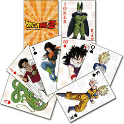 Dragon Ball Z - Group Playing Cards Games (Misc)