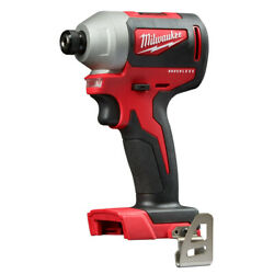 Milwaukee 2850-80 M18 Brushless 1/4 in. Hex Impact Driver (Tool Only) Recon $74.99