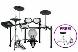 Yamaha DTX720K-PROMO 5-Piece Electronic Drum Kit with Bass Drum Pedal and Throne