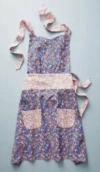 NWT Liberty for Anthropologie Wiltshire Berry Apron