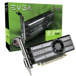 EVGA GeForce GT 1030 Graphic Card 1.29 GHz Core 1.54 GHz Boost Clock 2 GB $104.88