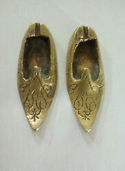 Shoes Old Antique Copper From Morocco over 100 years.