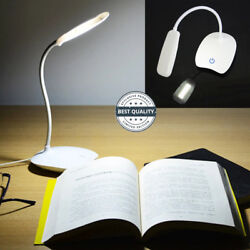 USB Rechargeable LED Desk LampsReading Light Touch Switch  $9.99
