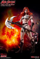 16 TBLeague PL2017-93 Red Sonja Scars of the She-Devil Action Figure