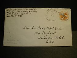 APO 69 BREMERHAVEN GERMANY 1947 Army Cover 7749 Staging Area Officer#x27;s Mail $9.99
