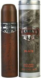 Cuba Black By Cuba cologne for men EDT 3.3  3.4 oz New in Box $9.01