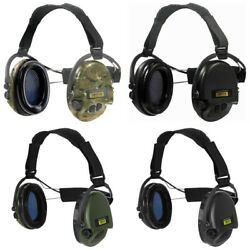 Sordin Supreme Neck Band Electronic Hearing Protection Earmuffs All Version $271.69