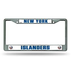 New York NY Islanders Chrome Metal License Plate Frame FREE US SHIPPING