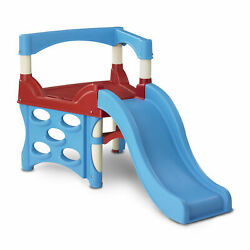 American Plastic Toys Toddler Kids Outdoor Indoor First Climber Slide Playset
