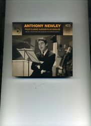 ANTHONY NEWLEY - FOUR CLASSIC ALBUMS PLUS SINGLES - 4 CDS - NEW!!