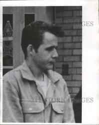 1969 Press Photo Murder Suspect William Gary Flann of Oconomowoc - mjx35047