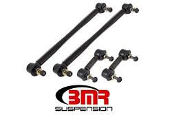 BMR Suspension ELK004 Sway Bar End Links Black Anodized Chevy Set of 4