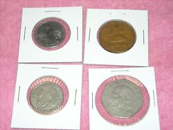 Lot of Mexican coins 1960 1980 1985 1979 cincuenta diez  Foreign World Coin