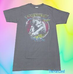 New Van Halen 1984 Tour Of The World Concert Gray Vintage Retro Mens T Shirt $19.95