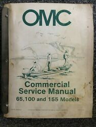 OMC Commercial Service Manual 65 100 amp; 155 Models