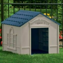 XXL DOG KENNEL FOR X-LARGE DOGS OUTDOOR PET WEATHERPROOF HOUSE BIG SHELTER