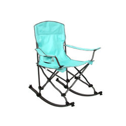 Mac Sports Island Blue Collapsible Foldable Rocking Chair $49.99