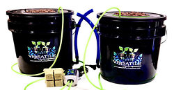 DWC hydroponic system Kit 3.5 G 2 Pk Indoor outdoor Stay Home And Grow Ur Own $86.98