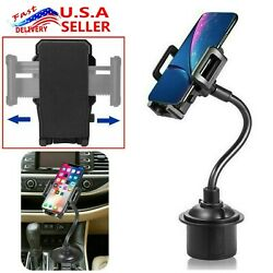 New Universal Car Mount Adjustable Gooseneck Cup Holder Cradle for Cell Phone US $8.08