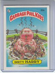 1985 Garbage Pail Kids Series 2 Card #52a Dirty HARRY ( 1 Star Back ) $3.99