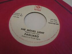 Pagliaro Lovin' You Ain't Easy  She Moves Light 45 rpm PYE Records VG+