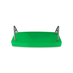 SWING SET STUFF INC. COMMERCIAL ROTOMOLDED FLAT SEAT GREEN attachment fun 0128 $92.56