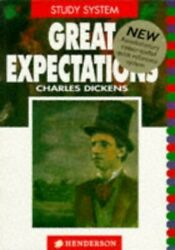 Great Expectations (Henderson Study System) by Dickens Charles Paperback Book