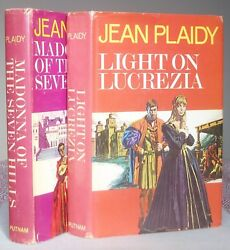 Jean Plaidy MADONNA OF THE SEVEN HILLS  LIGHT ON LUCREZIA 1ST1ST SIGNED HB