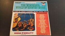 The Wonderful World Of Country Music Various Artist LP Starday SLP 10-330