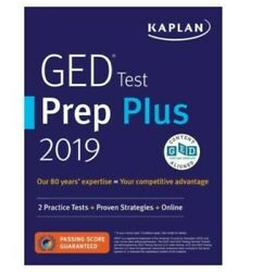 GED Test Prep Plus 2019Revised EditionCaren Van SlykeSecondary Education NEW