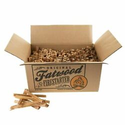 Fatwood Fire Starters 25 Pounds Natural Wood Kindling Quick Start Pieces $39.99