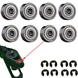 8 X Upgrade Drive Ball Bearings and Cirlips Clips For Parrot AR Drone 2.0 amp;1.0 $4.97
