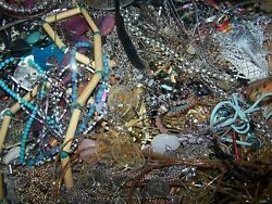 HUGE Vintage to Now Modern Costume Jewelry Lot-Gold & Silvertone 8 LBS 11 OUNCES