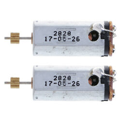 2Pcs Silver Tail Motor V913 34 for V913 Remote Control Helicopter Toy $11.59
