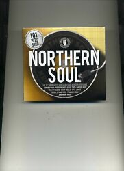 101 NORTHERN SOUL - FOUR TOPS DELLS SUPREMES JERRY BUTLER ELGINS - 5 CDS - NEW!!