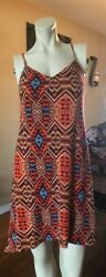 Sexy stretchy mini summer dress size medium $9.00