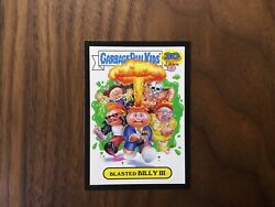 garbage pail kids 30th anniversary Black Border Blasted Billy lll $14.95