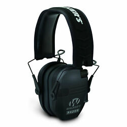 Walker's Razor Slim Shooter Folding Muff Series Noise Reduction Earmuffs Black