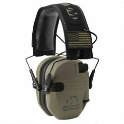 Walker#x27;s Razor Slim Electronic Hearing Protection Shooting Ear Muffs Patriot $47.99