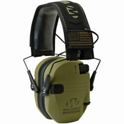 Walkers Patriot Razor Slim Shooting Ear Protection Muffs NRR 23dB Olive Green $43.49