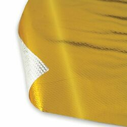 DEI 010393 Reflect-A-GOLD High-Temperature Heat Reflective Adhesive Backed Sheet