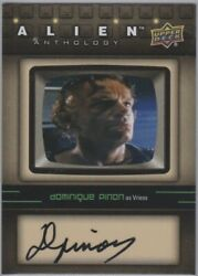 Dominique Pinon as Vriess 2016 Upper Deck Alien Anthology Auto Autograph SA-DP