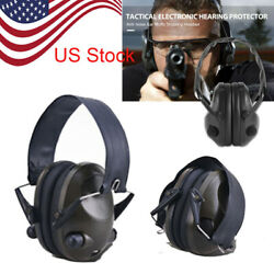 Electronic Noise Cancelling Ear Muffs Shooting Protection Sound Block Headphones $14.99