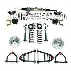 Mustang II IFS Kit with Power Steering Rack for 59-74 Galaxie Front