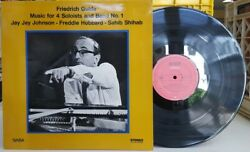 Friedrich Gulda-Music for Four Soloists & Band No.1 Saba LP NM- JAZZ GER. IMPORT