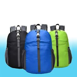 Durable Lightweight Packable Backpack Water Resistant Travel Daypack Foldable $9.98