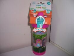 Evenflo Sip and Seek sippy cup pink twist insulated cup new $17.38