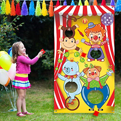 Best Carnival Toss Games with 3 Bean Bag Fun Carnival Game for Kids and Adults