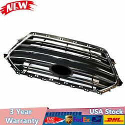 Auto Hot Front Bumper Center Grille Bolt-on Chrome For 17-18 Hyundai Elantra US