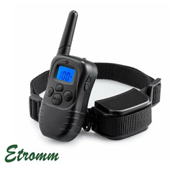 Remote Dog Shock Training Collar Electric Waterproof Rechargeable For 330 Yard $22.19